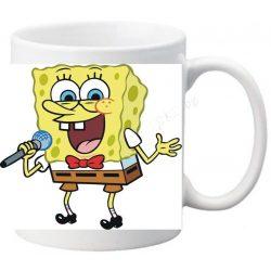 "Керамична фото чаша ""Спондж боб""-1 + снимка"