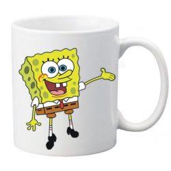 "Керамична фото фото чаша ""Спондж боб""-2 + снимка"