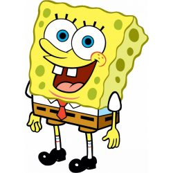 "Керамична чаша ""Спондж боб""-3 + снимка"