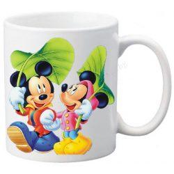 """Керамична фото чаша """"Мики Маус и Мини Маус""""-1"""