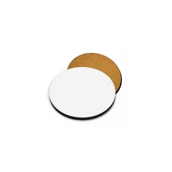 Подложка за чаша кръгла - корк