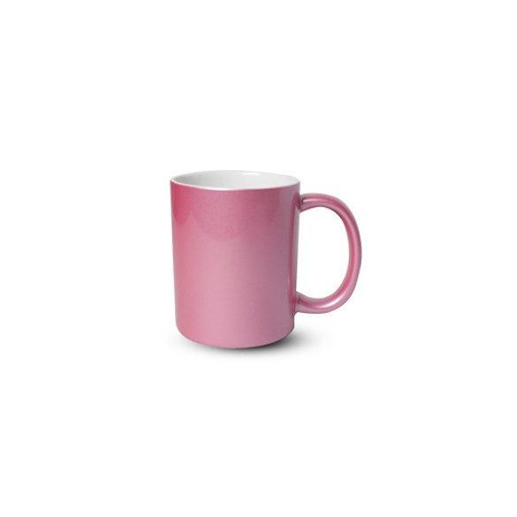Керамична чаша - розова перла