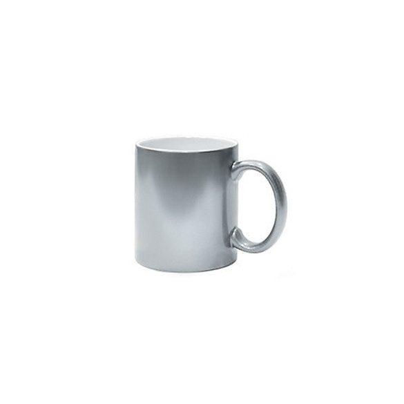 Керамична чаша - сребро