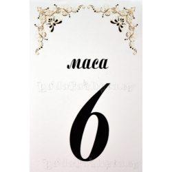Табелка за маса № 31