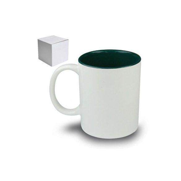Бяла керамична чаша - НЕ на алкохола