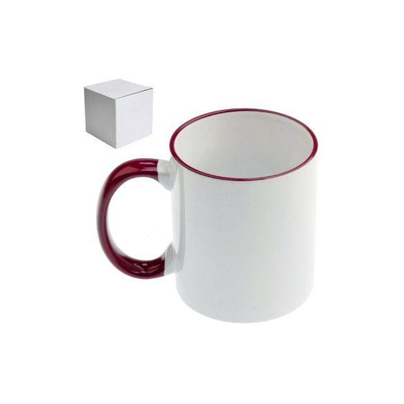 Бяла керамична чаша - Помни - на диета си!