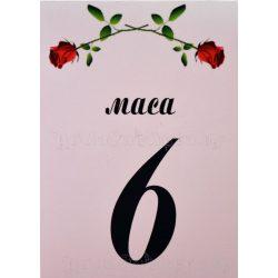 Табелка за маса № 34