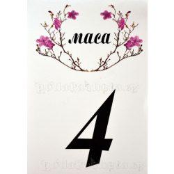 Табелка за маса № 43