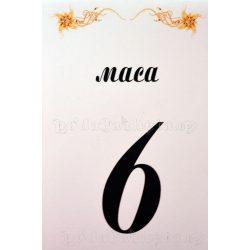 Табелка за маса № 36