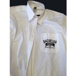 Риза с дълъг ръкав за ергенско парти