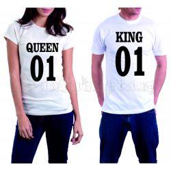 Бели тениски за двама - Queen and King 01