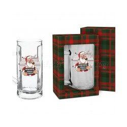"""Коледна чаша за бира 500мл, Дядо Коледа""""Наздраве за Новата Година!"""""""