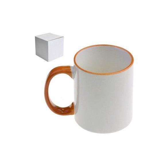 Бяла керамична чаша - Im Sexy