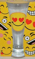 """Забавна чаша за бира Емотикони """"Любов"""""""