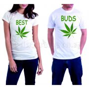 Бели тениски за двама - Best Bude Marijuana