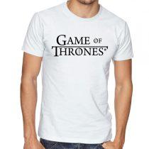 Бяла мъжка тениска - Game of Thrones