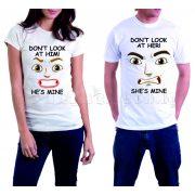 Бели тениски за двама - Don't look!
