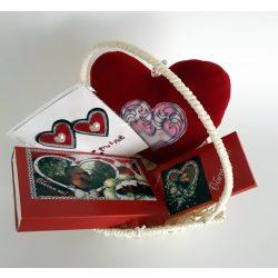 Подаръчна кошница за Свети Валентин 1