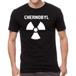 Черна мъжка тениска - Chernobyl 2