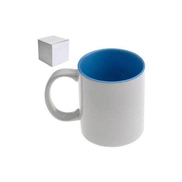 Бяла керамична чаша -  За жена, бъди...