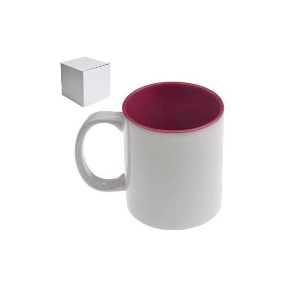 Бяла керамична чаша - Чашата на ловеца