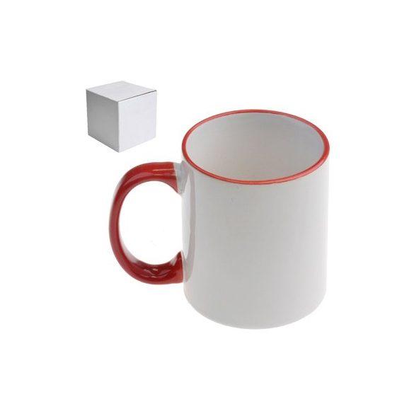 Бяла керамична чаша - Чашата на колежката