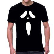 Черна мъжка тениска - Scream