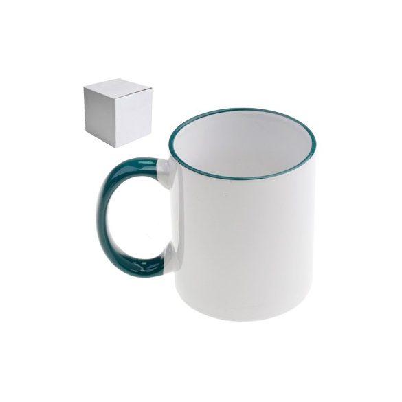 Бяла керамична чаша - Чашата на шефа