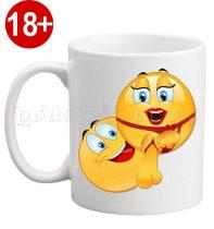 Чаша Емотикона 10 - 18+