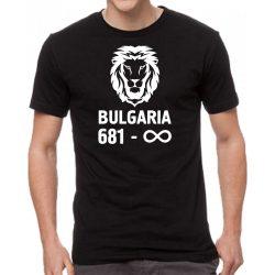 Черна мъжка тениска - България 681