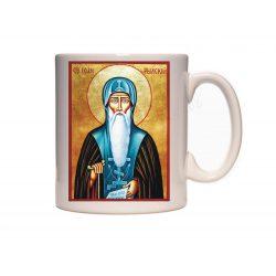 Керамична чаша с иконата на Свети Иван Рилски
