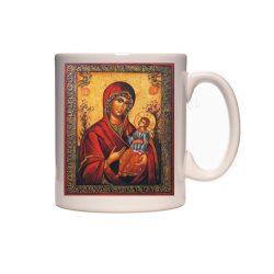Керамична чаша с Богородица - 2