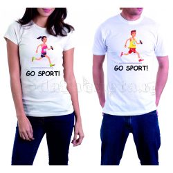 Бели тениски за двама - Go Sport!