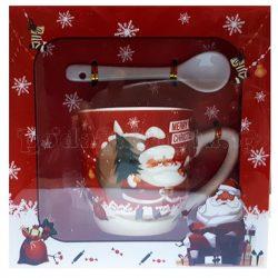 Коледна чаша с лъжичка - 3