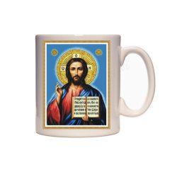 Керамична чаша с Исус Христос