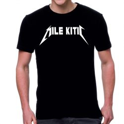 Черна мъжка тениска - Mile Kitic (Metallica)