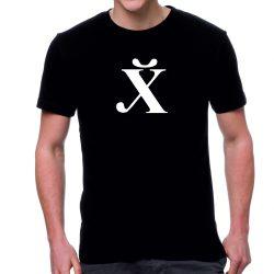 Черна мъжка тениска - Български Йероглиф