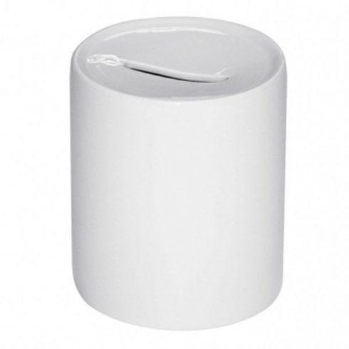 Керамична бяла касичка с ваша снимка