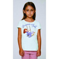 Бяла детска тениска - Принцеса София 2
