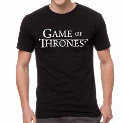 Черна мъжка тениска - Game of Thrones