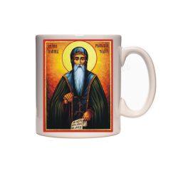 Керамична чаша с иконата на Свети Иван Рилски - 2