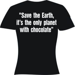 Тениска - Save the Earth...