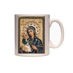 Керамична чаша с Богородица