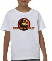 Бяла детска тениска - Mortal Kombat