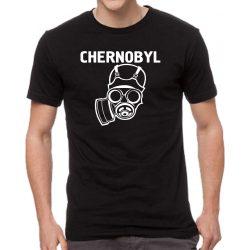 Черна мъжка тениска - Chernobyl