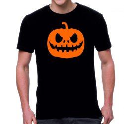 Черна мъжка тениска - Halloween