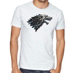 Бяла мъжка тениска - Game of Thrones 2