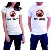 Бели тениски за двама - Hands Off - Boy and Girl