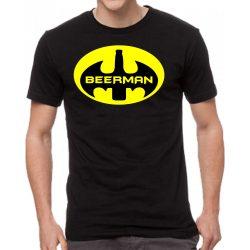 Черна мъжка тениска - Beerman